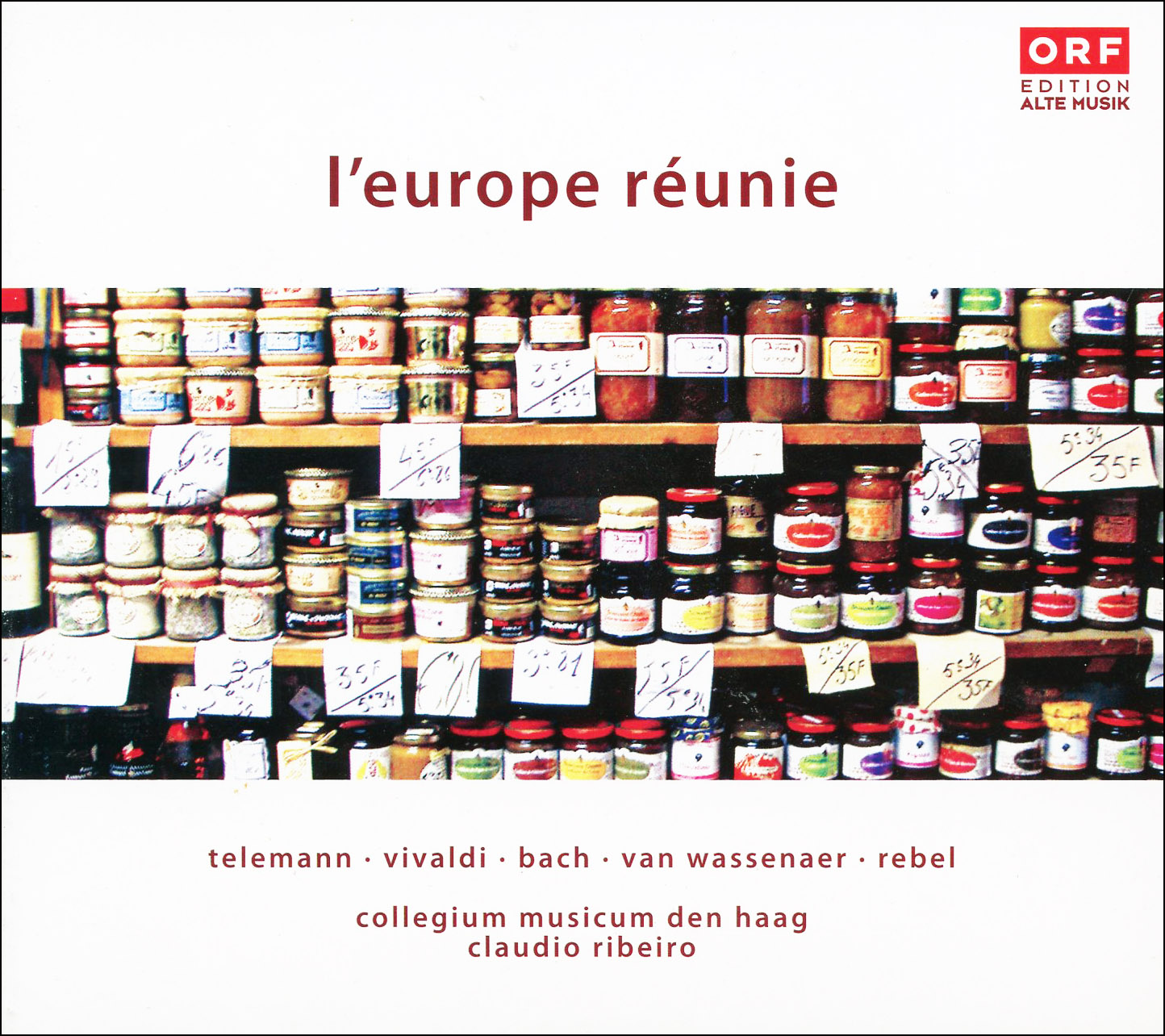 L´europe reunie 1  1 Audio CD