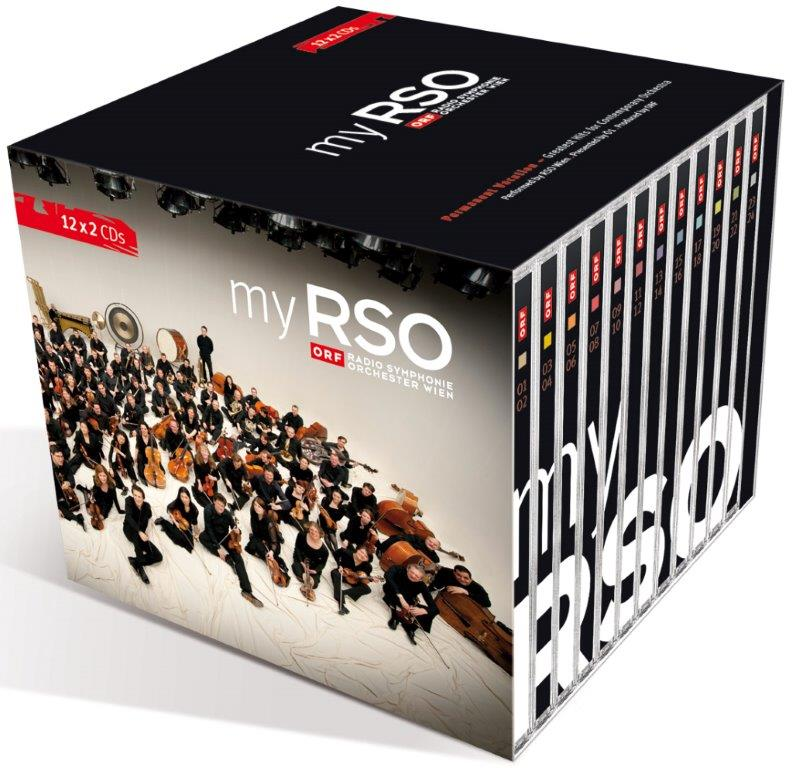 MY RSO Box I 12 Audio CD´s